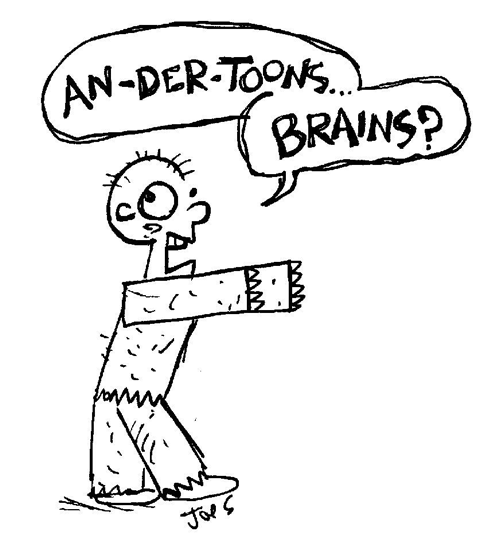 480x545 How To Draw A Cartoon Zombie Results