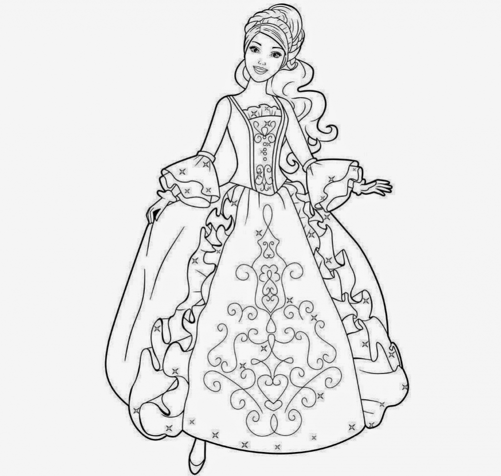 1024x974 Barbie Doll Cartoon Sketch Barbie Doll Sketch How To Draw Barbie