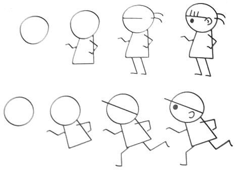 467x344 photos draw step by step cartoons