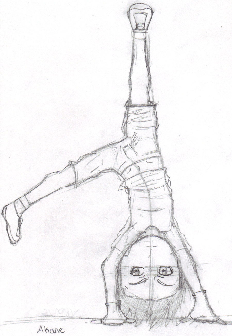 900x1306 Chibi Child Akane Cartwheel By Ixi Chibicharms Ixi