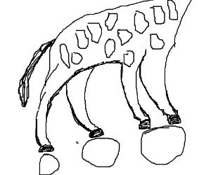 300x250 A Giraffe Does A Cartwheel
