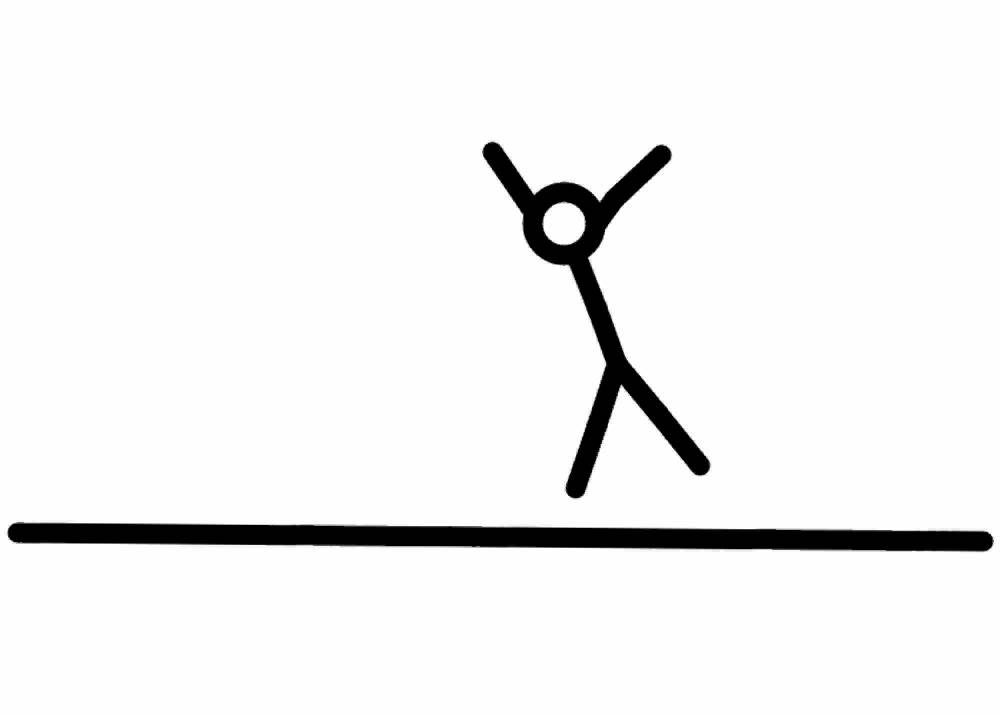 1000x714 Stickman Cartwheel And Backflip