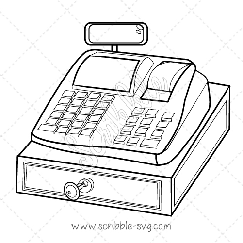 501x501 Cash Register Image For Whiteboard Animation Software. Download