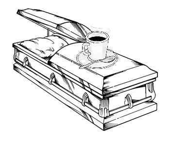 Casket Drawing
