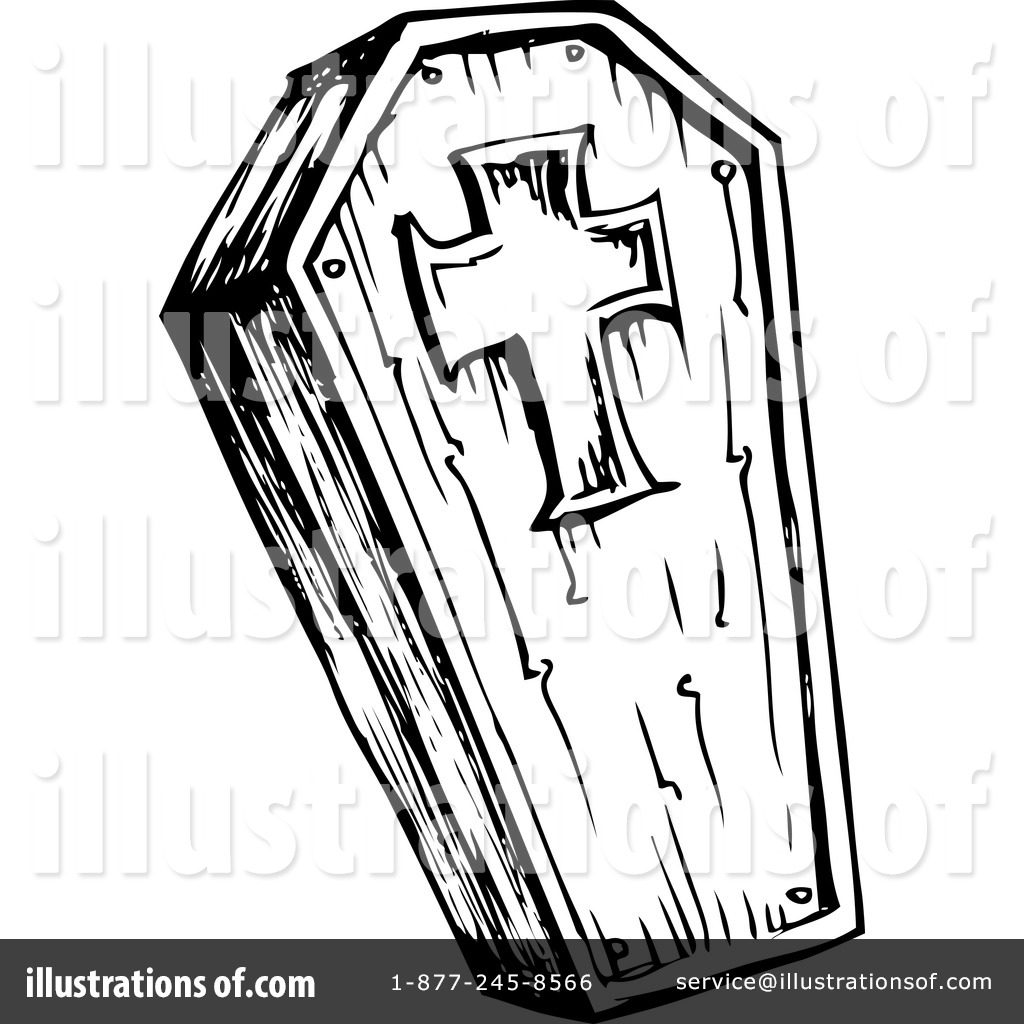 1024x1024 Coffin Clipart