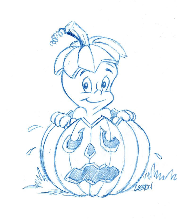 750x929 Casper Halloween By Lostonwallace