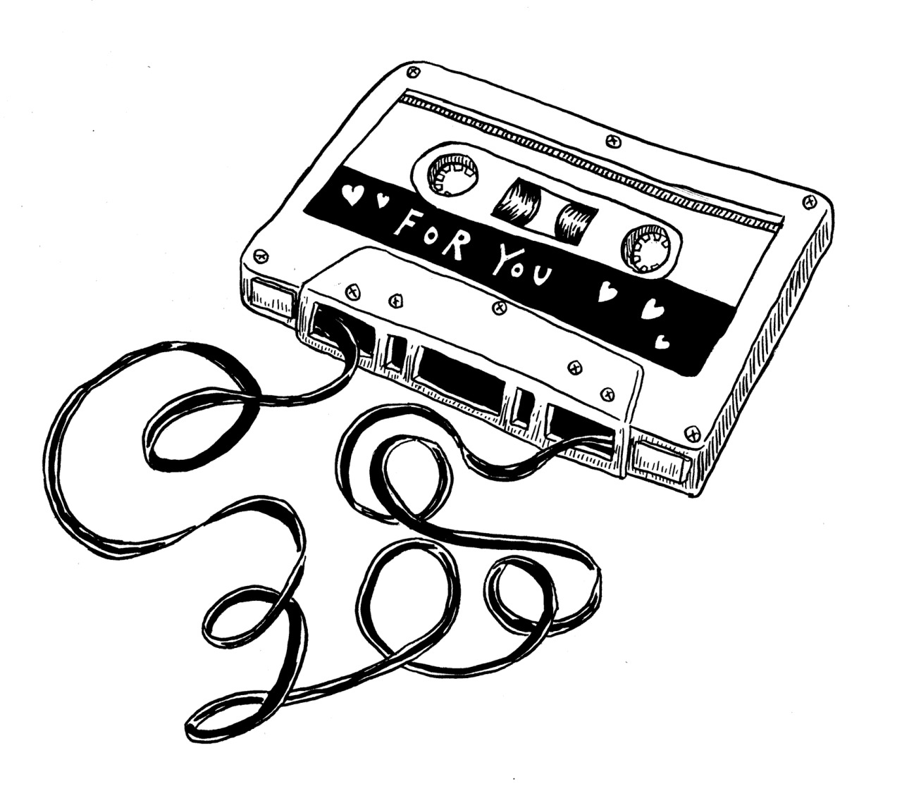 Cassette Drawing