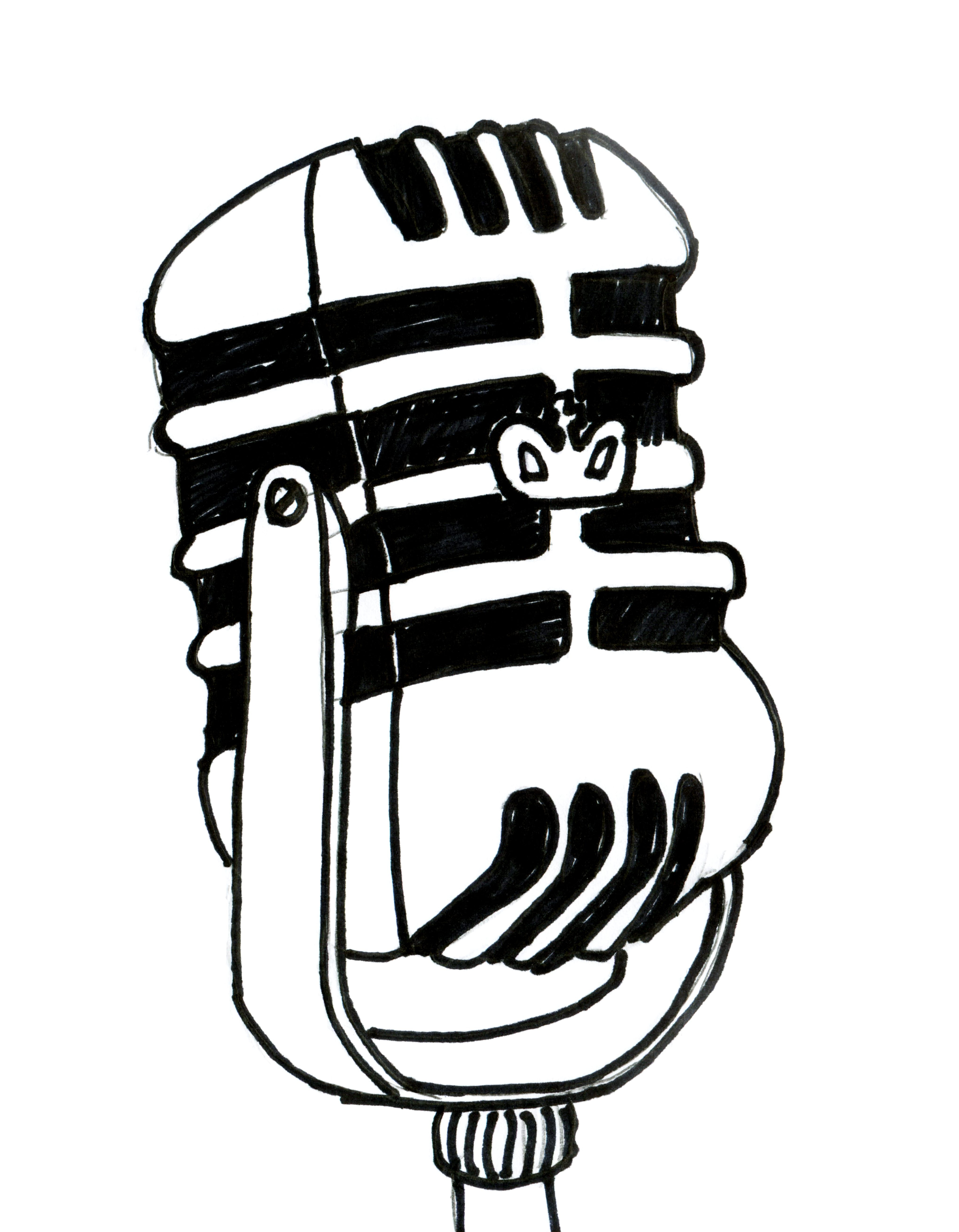 4082x5240 Drawing Of A Radio Radio Tape Cassette Player Cartoon Vector Stock