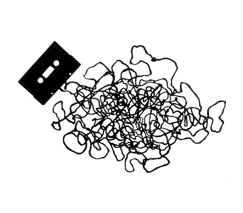 800x700 9mm Zine Unwording Cassette Tapes