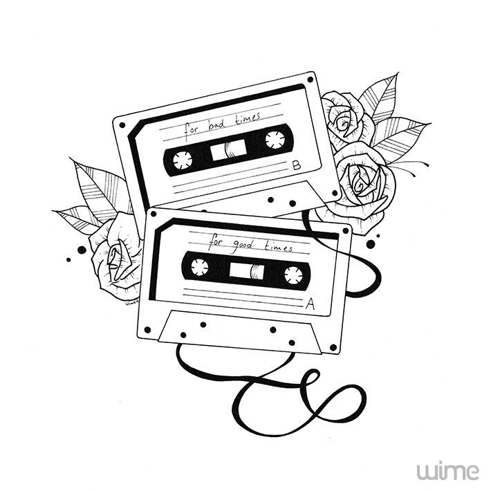 710x710 The Best Cassette Tattoo Ideas On 13 Reasons Why