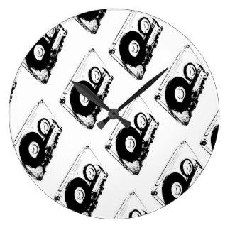 324x324 Cassette Tape Wall Clocks Zazzle