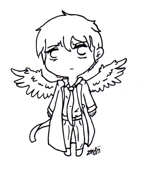534x584 Chibi Castiel By Wondergirl9876