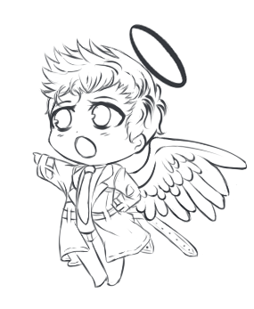 Castiel Cartoon Drawing At Getdrawings Com Free For Personal Use