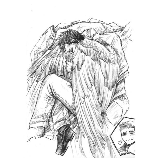 612x612 930 Best Destiel Images On Supernatural, Castiel