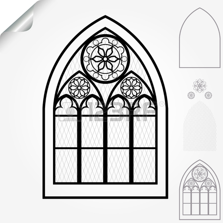 450x450 574 Gothic Arch Stock Vector Illustration And Royalty Free Gothic