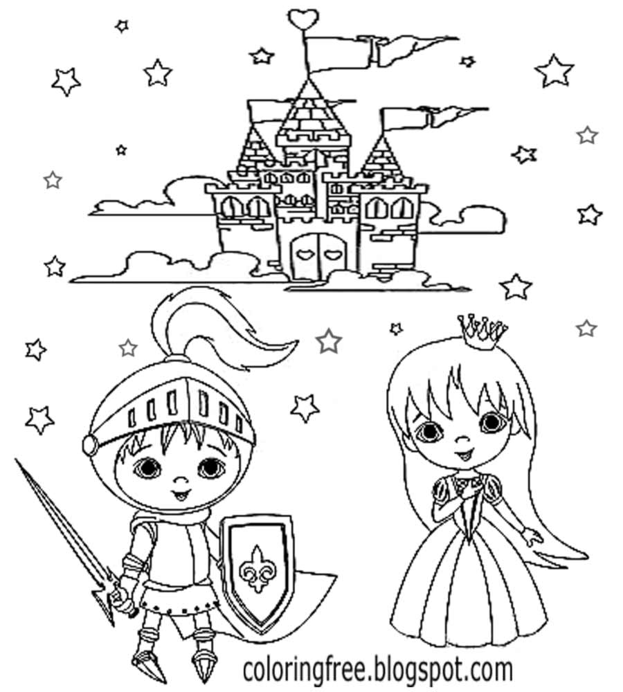 Castle Coloring Pages: Castle Drawing Easy At GetDrawings.com
