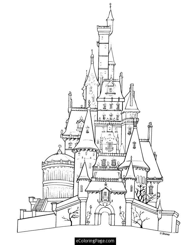660x847 Prince Adam's (Beast'S) Castle Beauty And The Beast