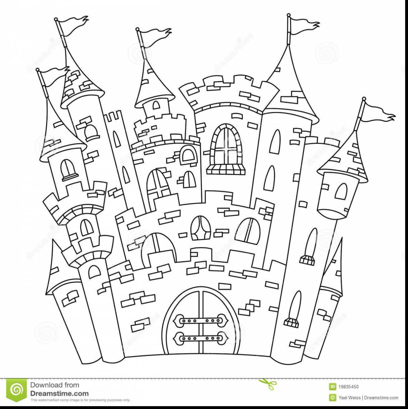 Castle Drawing Outline at GetDrawings.com | Free for ...