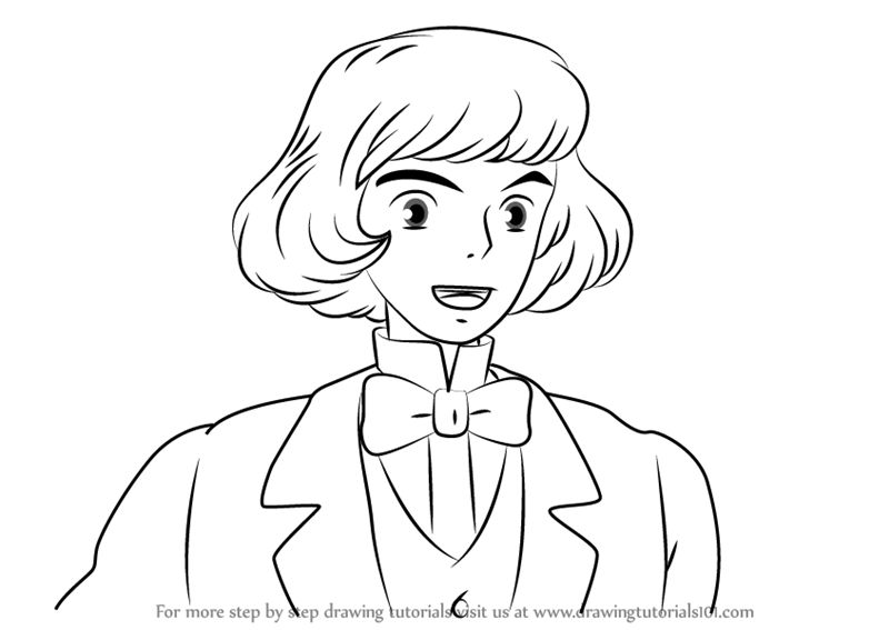800x567 Learn How To Draw Prince Justin From Howl's Moving Castle (Howl'S
