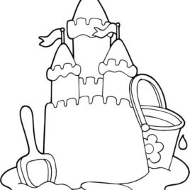 Castle Outline Drawing at GetDrawings.com | Free for personal use ...