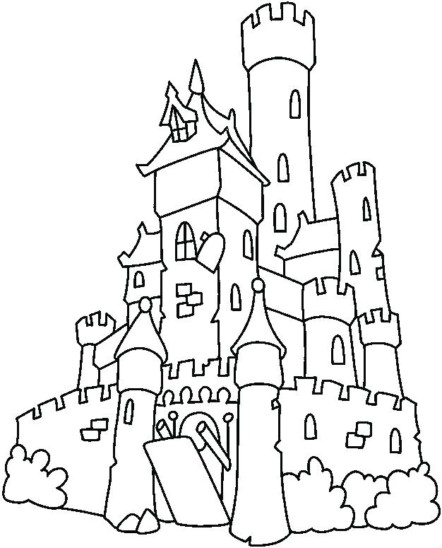 626x775 Lego Castle Coloring Pages Simple Castle Drawing Pics Of Simple