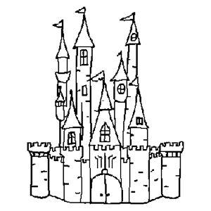 300x300 Castle Outline Free Clip Arts Sanyangfrp