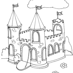Castle Tower Drawing
