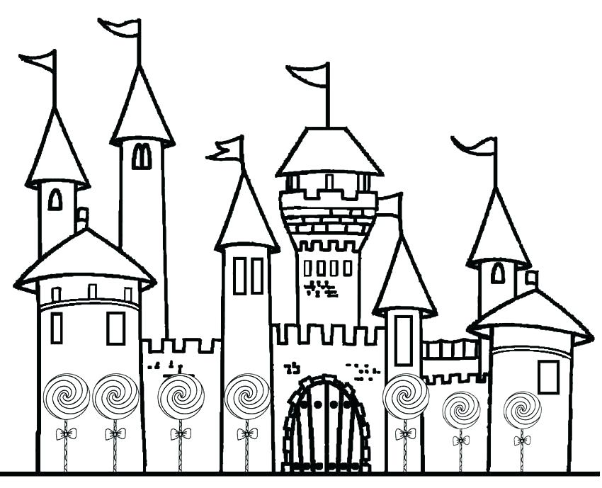 850x689 coloring page castle castle coloring page picture coloring pages