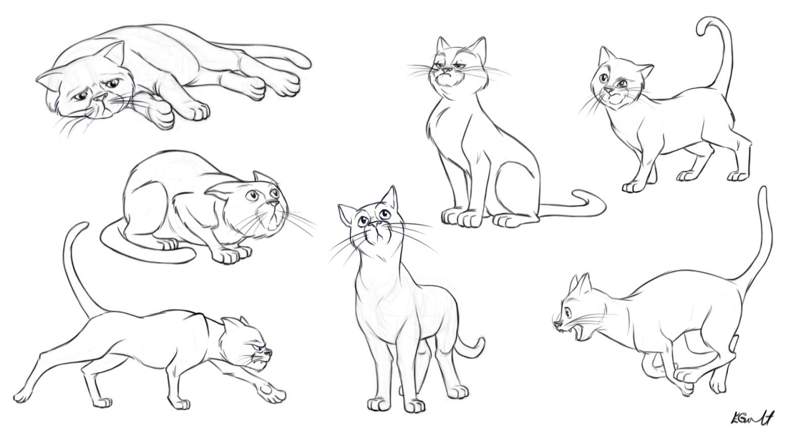 1600x865 Emilie Goulet, Cg Animator Cat Study