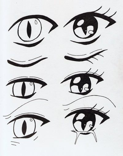 400x508 Creative Works Cat Eyes By Aya Anime
