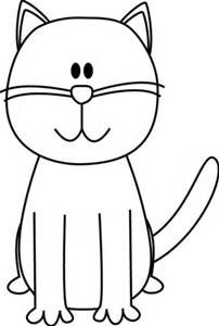 black and white free clipart