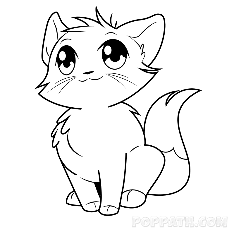 Cat Drawing at GetDrawings.com | Free for personal use Cat