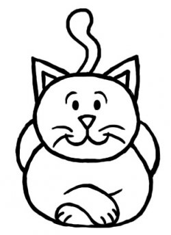 250x344 How To Draw A Cat Step By Step For Kids Drawing