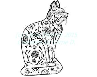 340x270 Cat Art Cat Drawing Doodle Art Pen And Ink Art Pen And Ink