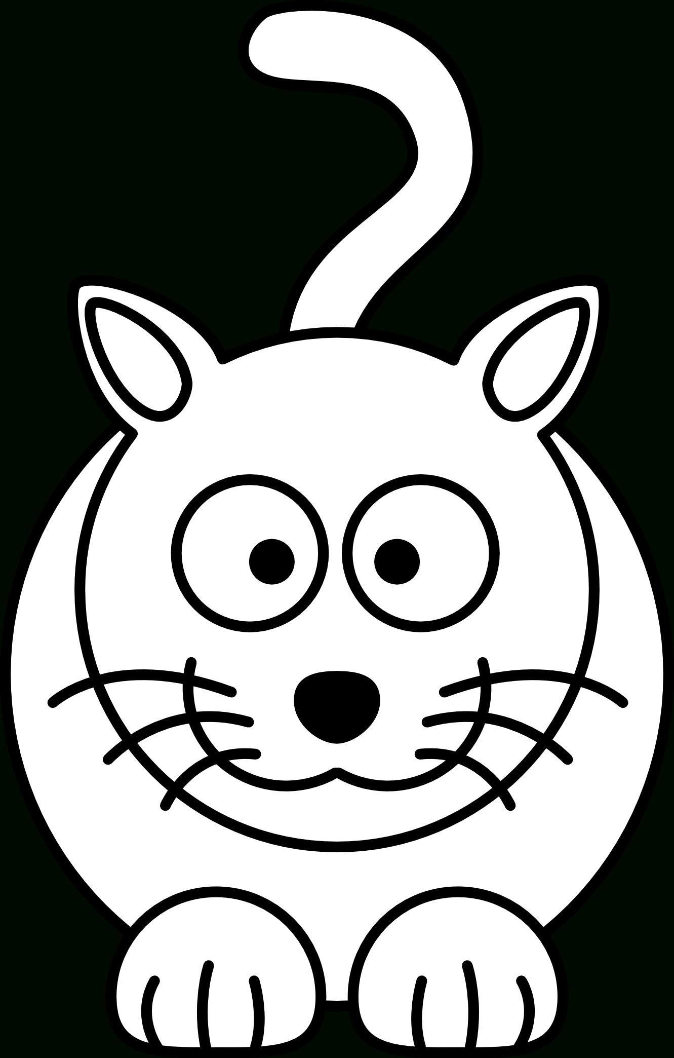 1331x2088 Cat Cartoon Drawing How To Draw A Cartoon Cat