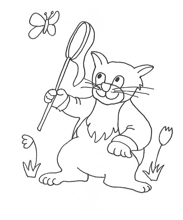 588x709 Cat Clip Art, Cat Sketches, Cat Drawings Amp Graphics