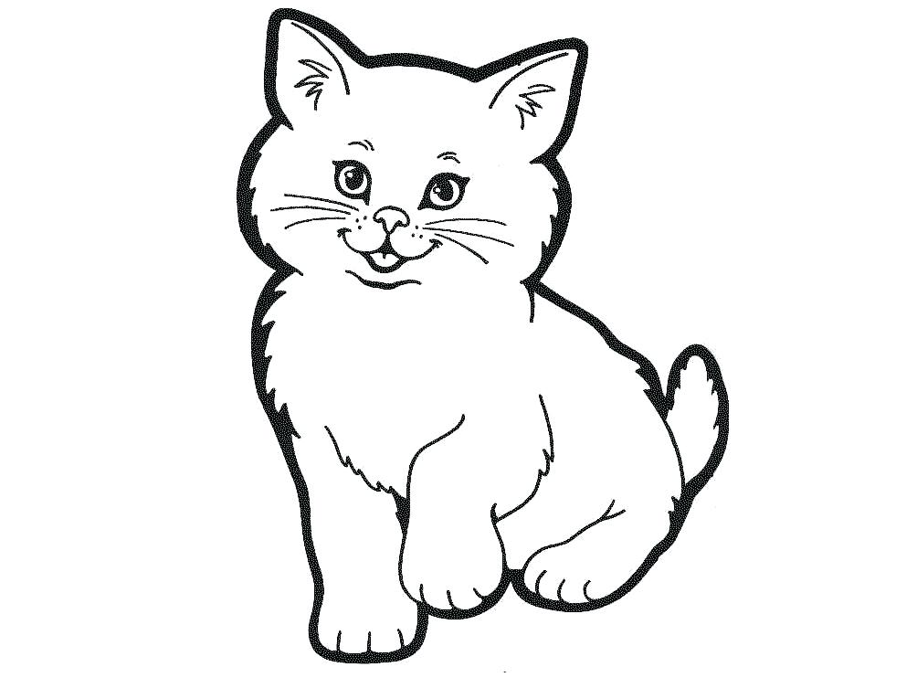 1004x753 Cat Clipart The Cat Cat Clipart Black And White Png Memocards.co