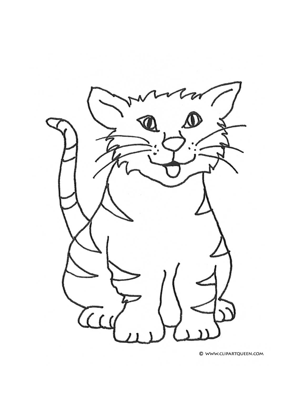 Cat Drawing Clip Art At Getdrawings Com Free For Personal Use Cat