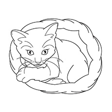 230x230 Top 20 Free Printable Cat Coloring Pages For Kids