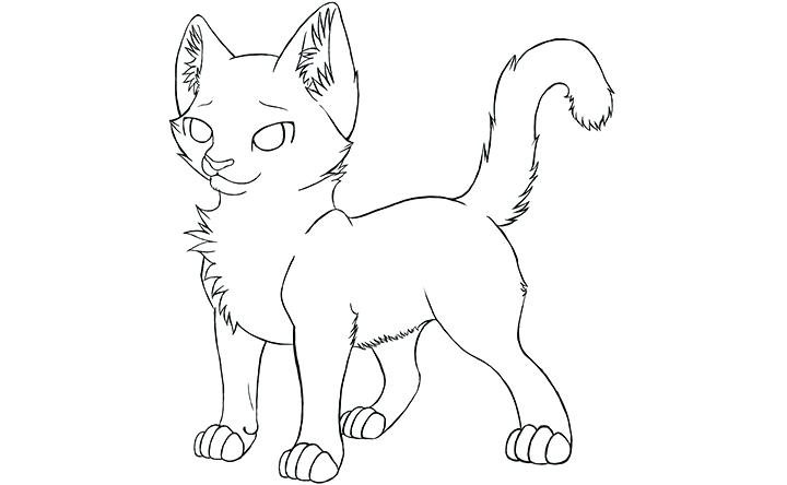 720x444 Lovely Warriors Cats Coloring Pages Kids Warrior Cat Various Games