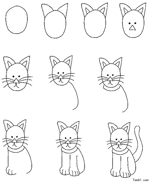 Cat drawing kids at getdrawings free for personal use cat 576x706 how to draw doodles zentangles and easy doodles thecheapjerseys Gallery