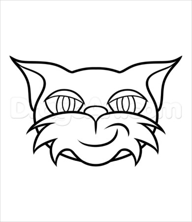 390x450 Coloring Pages Stunning Stampy Cat Page