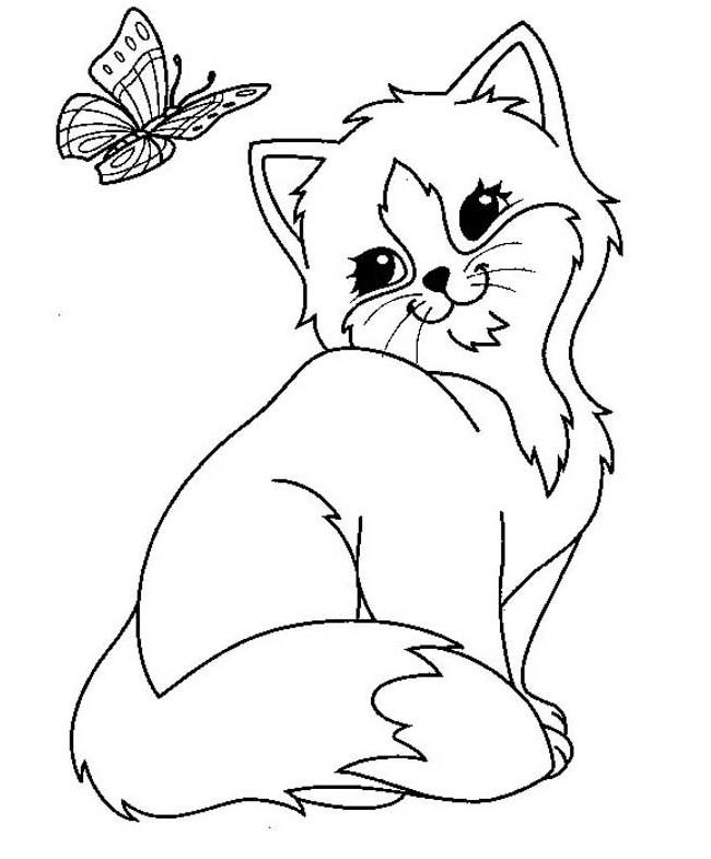 650x785 Cat Shape Template