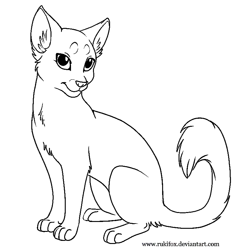 Cat Drawing Template at GetDrawings.com | Free for personal use Cat ...