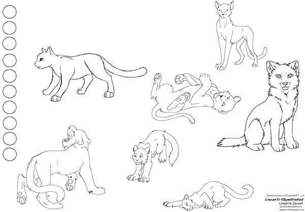 600x418 Cat Character Sheet