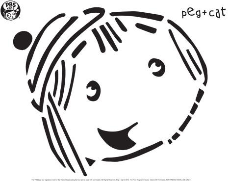 467x369 Peg + Cat Pumpkin Carving Templates Happy Halloween! Pbs