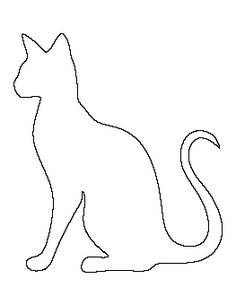 cat drawing templates at getdrawings com free for personal use cat
