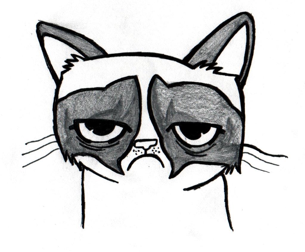 1024x847 Cute Cat Drawing Tumblr