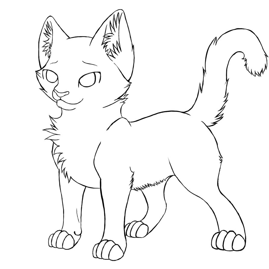 894x894 Coloring Sheets Pictures Of Warrior Cat Pages