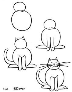 Cat Easy Drawing